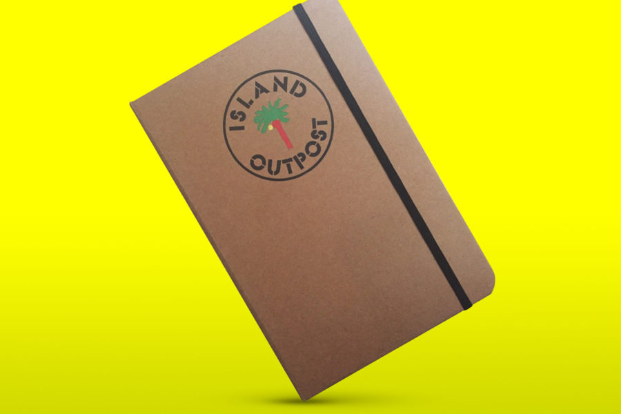 Island Outpost Notebook Feature